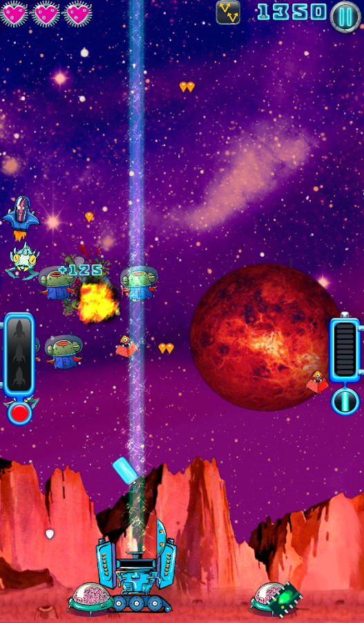 Space Brain Defence- screenshot