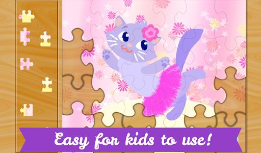 玩教育App|兒童芭蕾伶娜拼圖—適合小女孩玩的芭蕾明星拼圖遊戲免費|APP試玩
