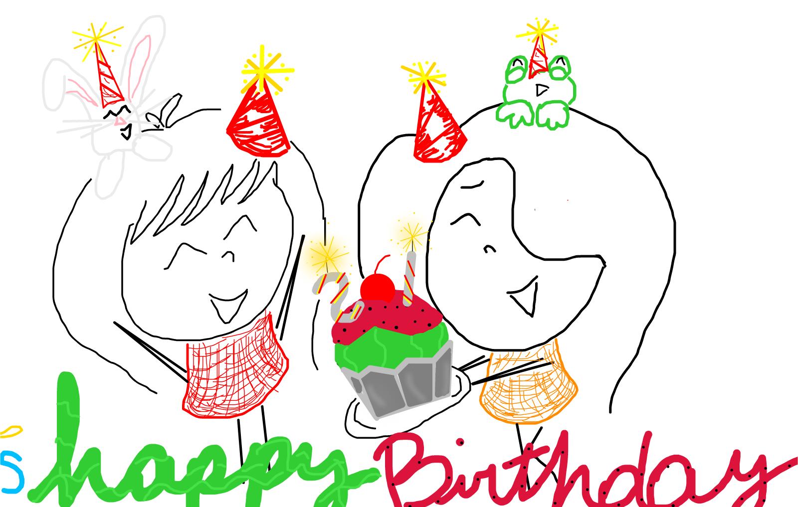 Bon Ami Birthday Cake