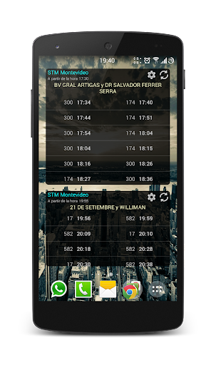 STM Montevideo Widgets