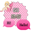 GO SMS - Pink Heart Fairy icon