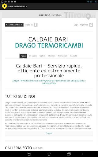 Caldaie Bari