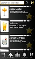 Screenshot of Cocktails Made Easy