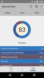 RescueTime Time Management Screenshot 2