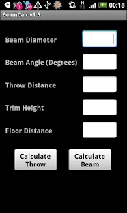Lighting Beam Calculator- screenshot thumbnail
