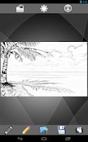 Screenshot of Portrait Sketch