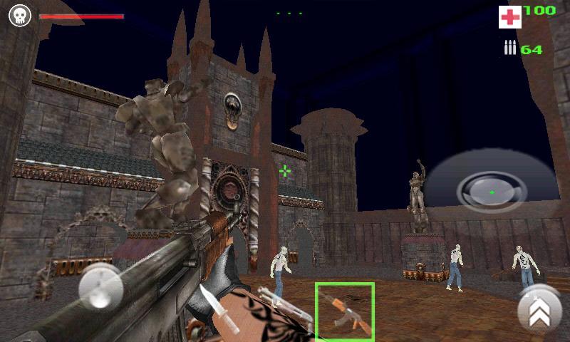 Quake 3 Engine- Zombie (alpha)- screenshot