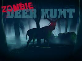 Screenshot of Zombie Deer Hunt 3D