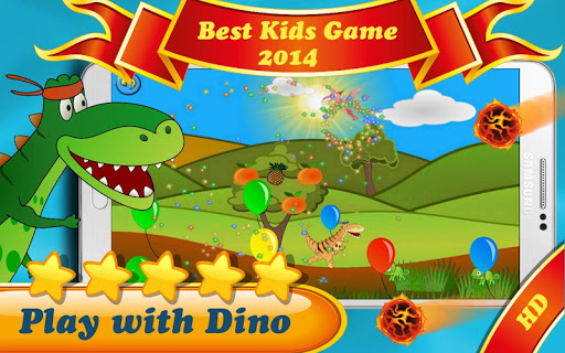 Play with Dino: Free Kids Game