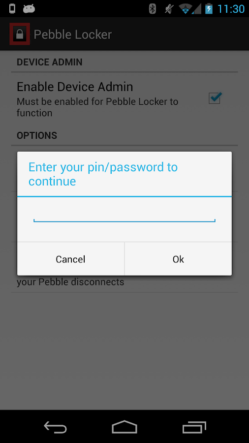 Pebble Locker - screenshot