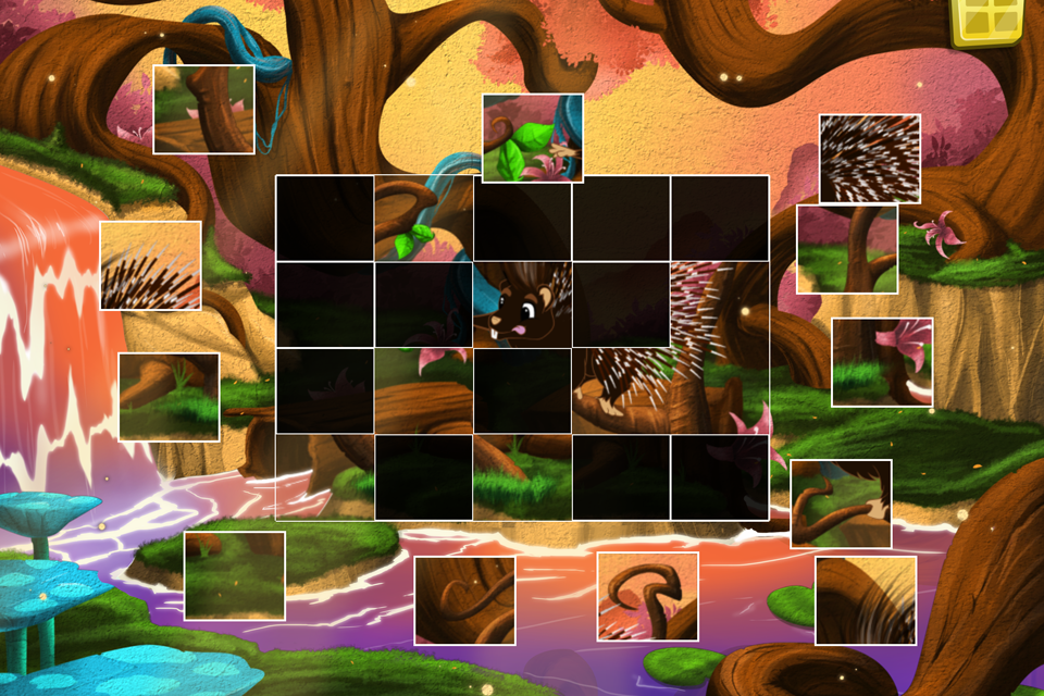 Live Puzzle! Forest Animals- screenshot