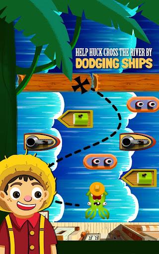 Huck's River Run Frogger