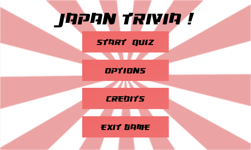Japan Trivia ! - screenshot