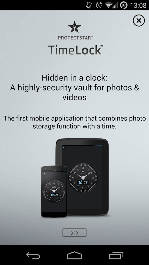 Hide Photos - TimeLock Free- screenshot