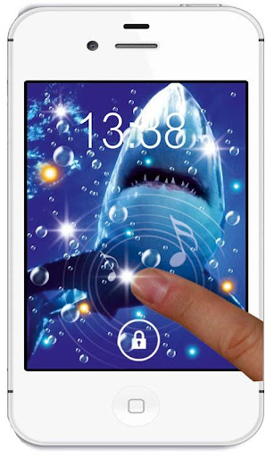 【免費個人化App】Danger Sharks live wallpaper-APP點子