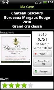 My Cellar - Wine App - Android Apps on Google Play
