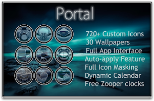 Screenshot of Portal Icon Pack