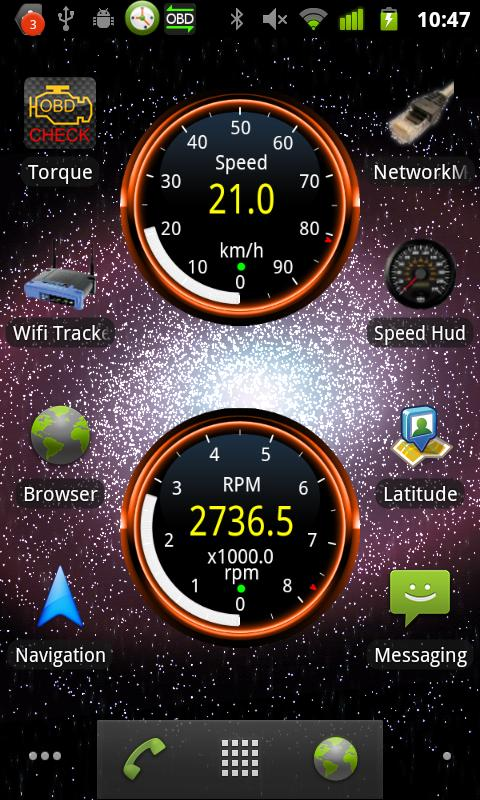 Widgets for Torque (OBD / Car)- screenshot