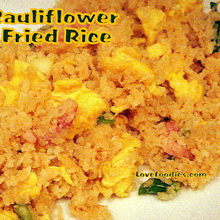 Magic Cauliflower Fried Rice with Bacon and Egg Recipe
