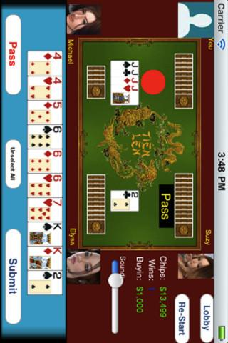 Tien Len Vietnamese Poker screenshot