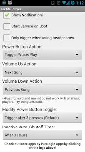 Tactile Player - Music Control - screenshot thumbnail