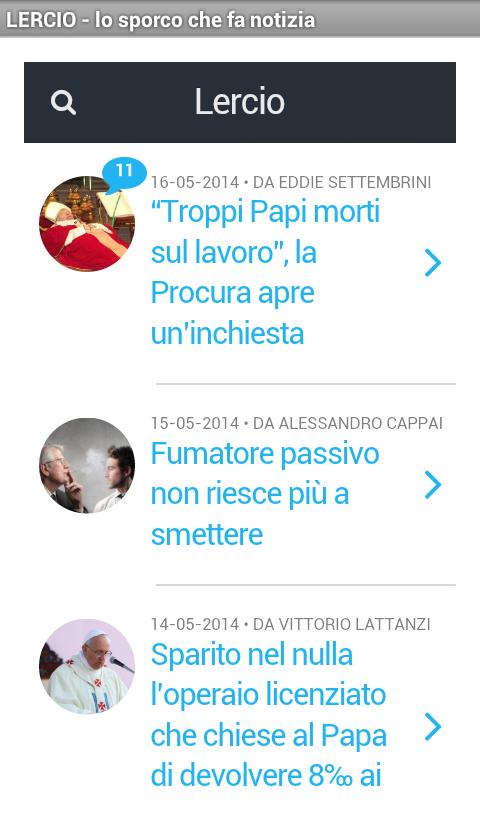 LERCIO - screenshot