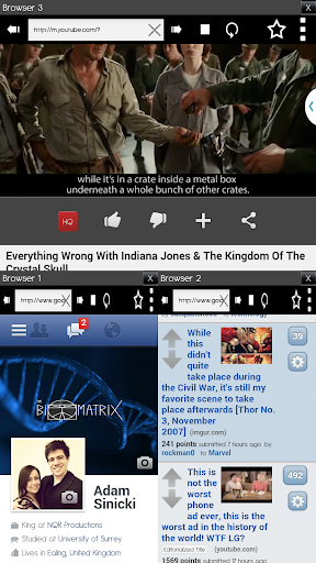 Multitasking application for android