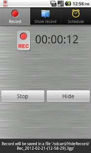 Record Mic and Call - screenshot thumbnail