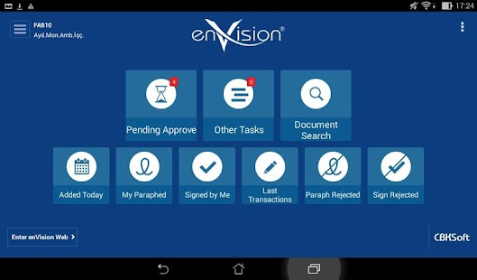 enVision Mobile- screenshot thumbnail