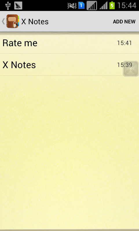 X Private Notes(secret diary)- screenshot