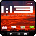 Super Digital Clock Widget icon