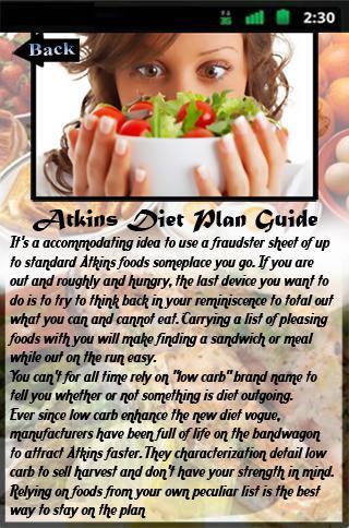Atkins Diet Plan Guide