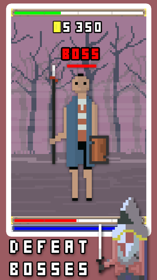 RPG Clicker- screenshot