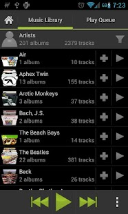 Lucid Music Player - screenshot thumbnail