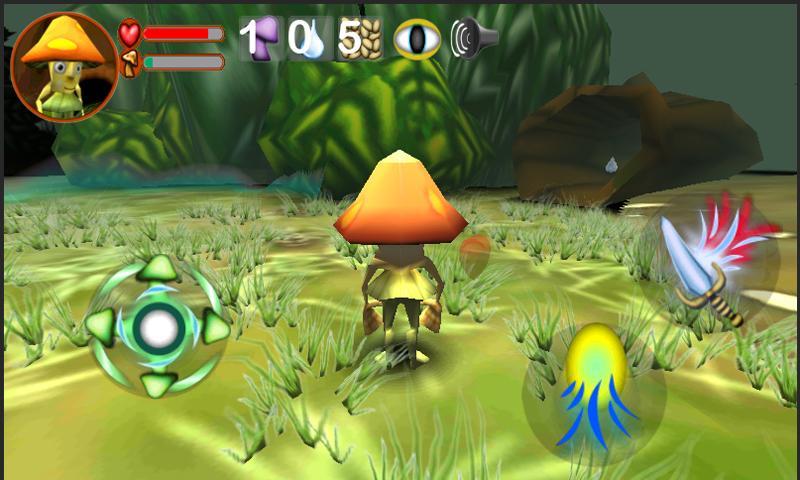 The Legend of Reishi (Demo)- screenshot