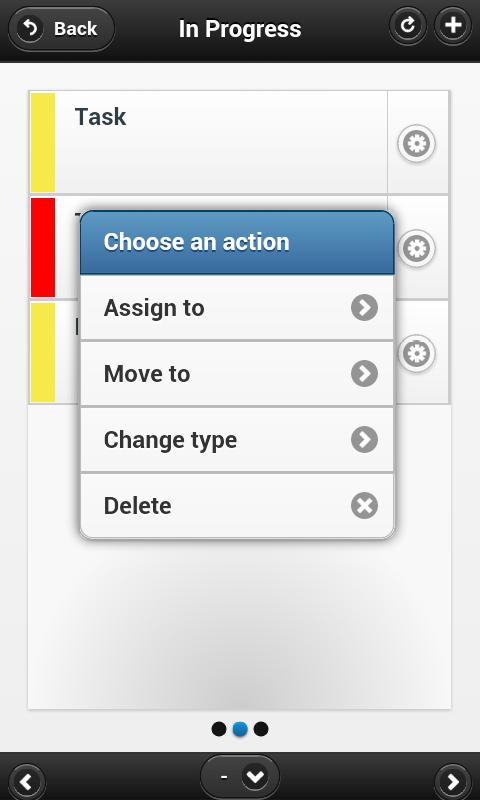 Kanban Tool – zrzut ekranu