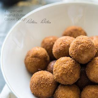 Healthy Peanut Butter Cookie Dough Bites Recipe