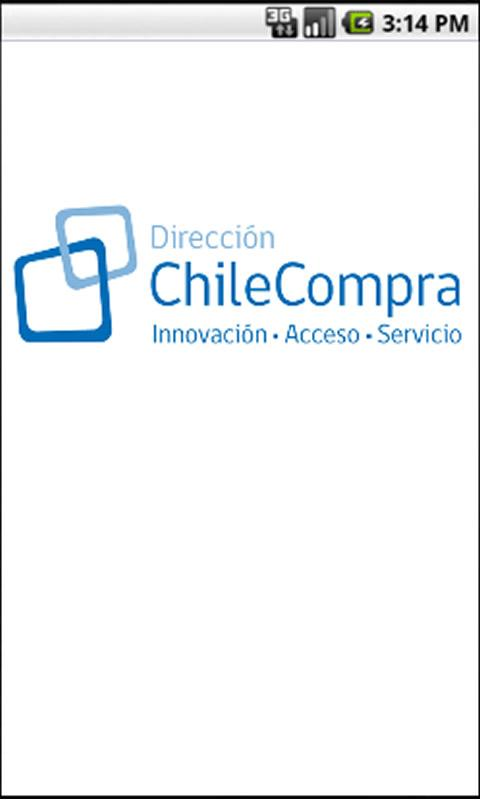 Licitaciones de Chilecompra - screenshot