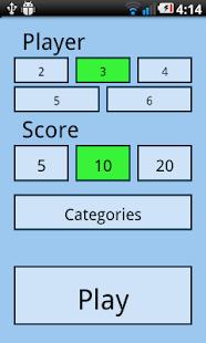2 Player Quiz screenshot