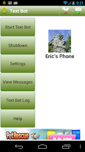 Text Bot - screenshot thumbnail