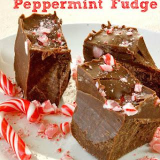 Peppermint Fudge
