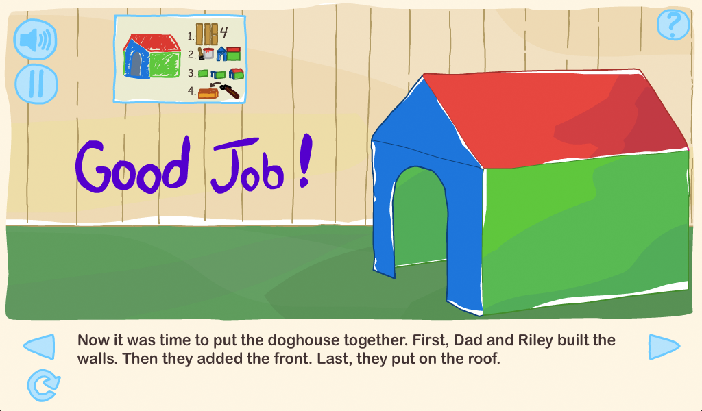 Riley and the Doghouse- screenshot