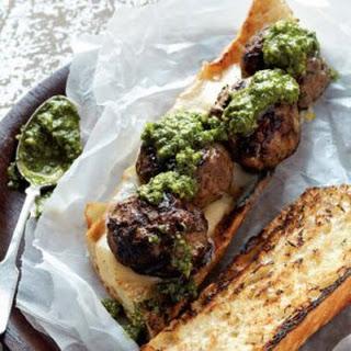 Grilled Meatball Sandwich Recipe
