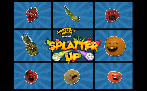 Annoying Orange: Splatter Up!- screenshot thumbnail