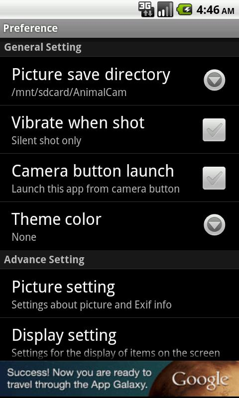 AnimalCam light - screenshot