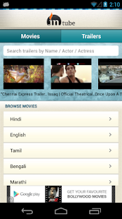 inTube: Indian Films & Movies - screenshot thumbnail
