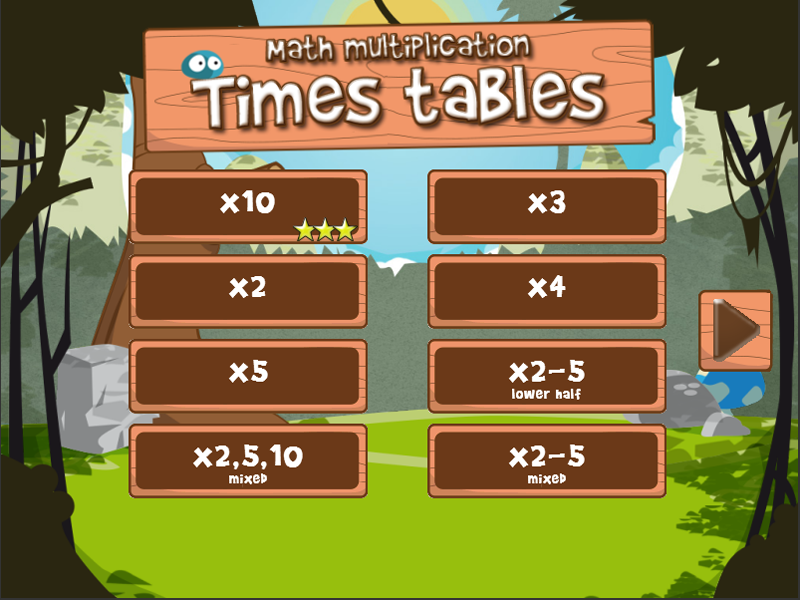 Math times tables (FULL)- screenshot