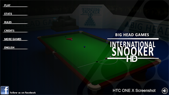 INTERNATIONAL SNOOKER - screenshot thumbnail