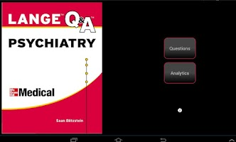 Screenshot of Psychiatry LANGE Q&A