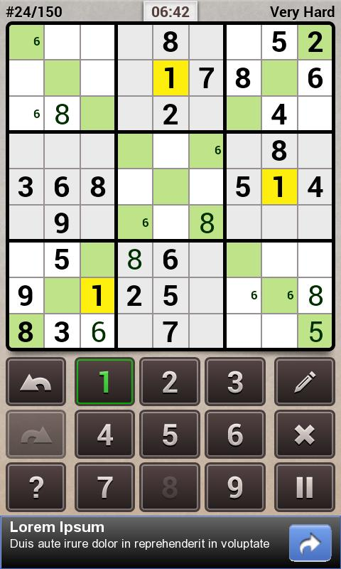 Andoku Sudoku 2 Free- screenshot
